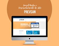 WebSite & Social Media | Prevsan