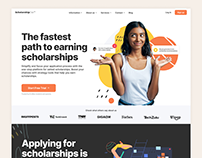 ScholarshipOwl - Landing Page & Style Guide