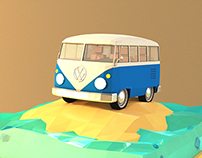 Low Poly VW T1