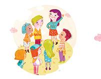 Ilustraciones en Manual Escolar ● Illustrations