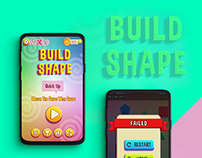 Shape Game UI Design