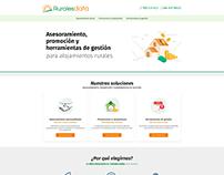 Diseño web · Marketing y Servicios alojamientos Rurales