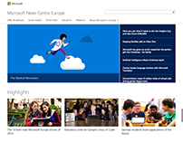 Microsoft Europe News Centre