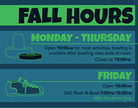 Level 1 Game Center Hours