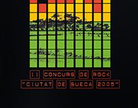 """II Concurs de Rock """"Ciutat de Sueca 2005"""""""