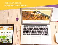 #givebeesachance Webdesign and development