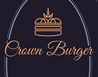 Crown Burger Menu