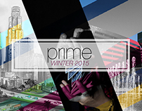 Social media for Winter 2015 prime Magazine launch