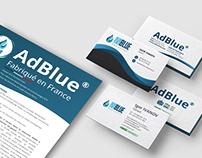 Этикетка и визитные карточки IVIBLUE