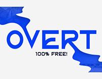 OVERT - FREE FONT