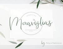 Meraviglias - Modern Script Font