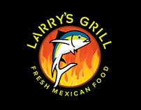 Larry's Grill Branding