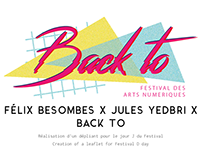 Creation of a leaflet for Festival D Day