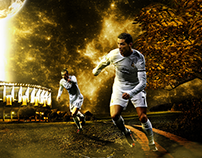 Wallpaper for CR7 and Bale