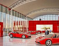 Design/Illustratoin: Ferrari Dealership