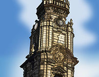 "The ""Clerigos Tower"" - Porto- Portugal"