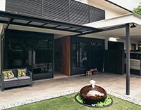 Interior shoot of residential space at Jalan Gaharu