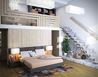Apartment in the old town, Kiev
