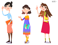 characters design for APP