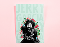 Jerry Garcia collage poster