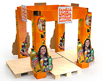 Diversos 3D's de displays para PDV - MIB GROUP S. A.