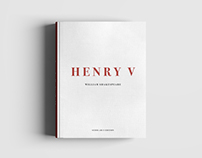 Henry V - Advanced Typesetting