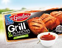 Packaging Le Gaulois été - Gamme Grill&Plancha