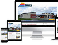 John Somers Construction Website Redevelopment