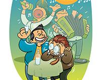 Ilustracije za časopis KOSMO.at (3)