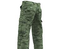 Dynamic 3D Marvelous Designer Cargo Pants