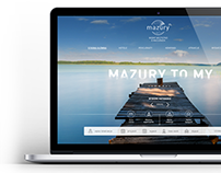 Logo and website concept mazury.pl