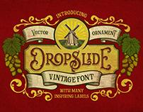 Dropslide Typeface