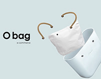 O BAG E-commerce Concept Design