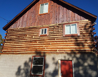 Log Home Finishing project Teller County Colorado