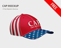 FREE CAP MOCKUP IN PSD