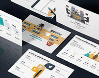 Awesome FREE Business Report Presentation Template