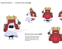 Character Design Collection of Bacteria 菌菌與奇幻夥伴