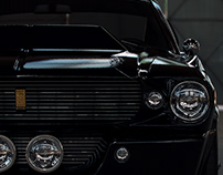 Mustang Eleanor - 3D renderings