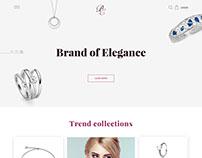 "Jewellery shop ""Brand Elegance"""