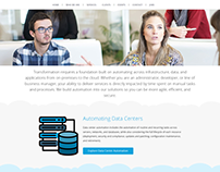 IT AUTOMATION - Landing Page Design for IT Services