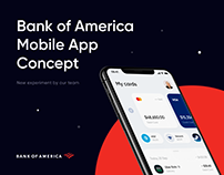 Bank of America - Online Banking App Redesign Concept