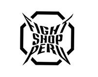 Fight Shop Perú Identity - Rodrigoconde.com