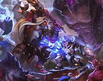 Relic Knight / illustration