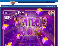 Kraft Nabiscoworld.com - Game Writer's Block