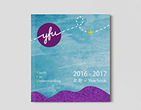 Publication Design: Yearbook for YFU