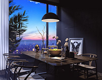 V-ray for Sketch Up #7 Interior Night Scene Tutorial