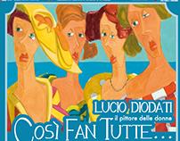 corporate identity for exhibition of Lucio Diodati