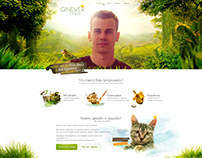 Design my portfolio site Ginever.ru