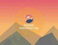 Weather Information App