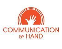 Communication by Hand logo